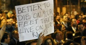 Better to die on your feet